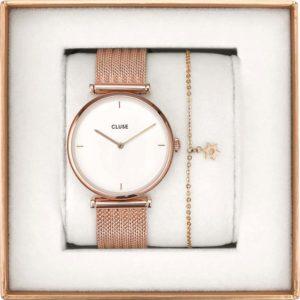 coffret cadeau montre et bracelet Cluse