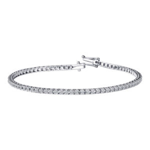 Bracelet en or blanc et diamants Mauboussin
