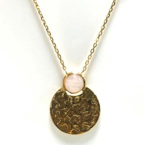 Collier or quartz rose