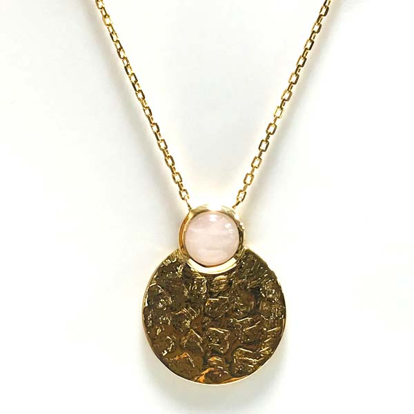 Collier or quartz rose